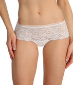 Marie Jo 'Color Studio' Lace (Natural) Hotpants - Sandra Dee - Model Shot - Front