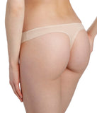 Marie Jo 'Color Studio' Basic (Caffé Latte) Thong - Sandra Dee - Model Shot - Rear