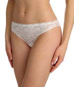 Marie Jo 'Color Studio' Lace (Natural) Thong - Sandra Dee - Model Shot - Side