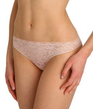 Marie Jo 'Color Studio' Lace (Patine) Thong - Sandra Dee - Model Shot - Side