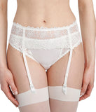 Marie Jo 'Jane' (Natural) Suspender Belt - Sandra Dee - Model Shot - Front