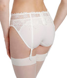 Marie Jo 'Jane' (Natural) Suspender Belt - Sandra Dee - Model Shot - Rear