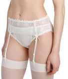 Marie Jo 'Jane' (Natural) Suspender Belt - Sandra Dee - Model Shot - Side