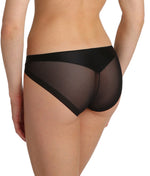 Marie Jo 'Undertones' (Black) Rio Brief - Sandra Dee - Model Shot - Rear