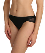 Marie Jo 'Undertones' (Black) Rio Brief - Sandra Dee - Model Shot - Side