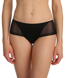 Marie Jo 'Undertones' (Black) Hotpants - Sandra Dee - Model Shot - Front