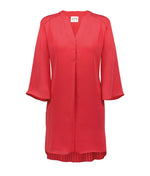 Maryan Mehlhorn 'Cover Up' (Grenadine) Poncho (Tunic) - Sandra Dee - Product Shot - Front
