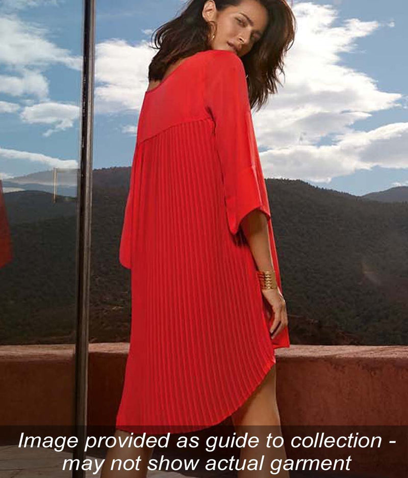 Maryan Mehlhorn 'Cover Up' (Grenadine) Poncho (Tunic) - Sandra Dee - Collection Publicity Shot