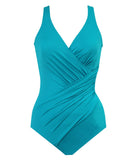 Miraclesuit 'Must Haves' (Amalfi) Padded Swimsuit - Sandra Dee - Product Shot - Front