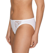 PrimaDonna 'Deauville' (White) Rio Brief - Sandra Dee - Model Shot - Side