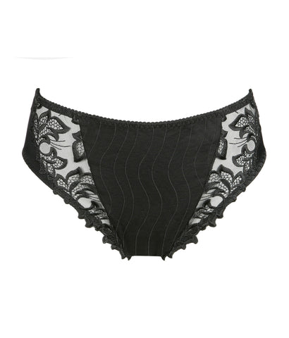 PrimaDonna 'Deauville' (Black) Full Brief - Sandra Dee - Product Shot - Front