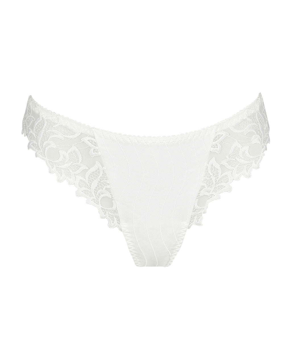 PrimaDonna 'Deauville' (Natural) Thong - Sandra Dee - Product Shot - Front