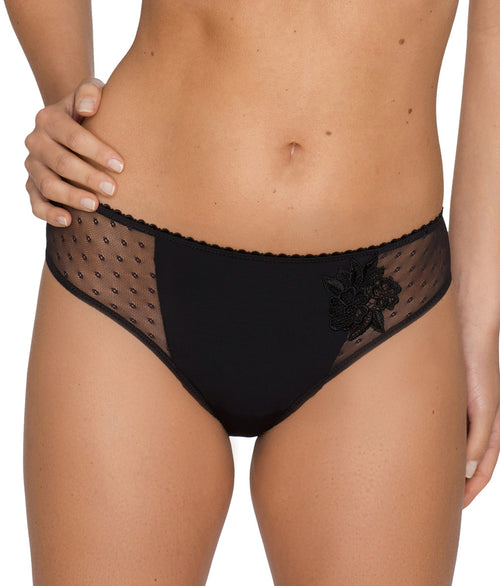 PrimaDonna 'Divine' (Black) Rio Brief - Sandra Dee - Model Shot - Front