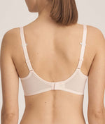 PrimaDonna 'Every Woman' (Pink Blush) Seamless Full Cup Bra - Sandra Dee - Model Shot - Rear