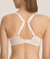 PrimaDonna 'Every Woman' (Pink Blush) Seamless Full Cup Bra - Sandra Dee - Model Shot - Rear - Racer Back Straps