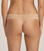 PrimaDonna 'Every Woman' (Light Tan) Thong - Sandra Dee - Model Shot - Rear