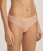 PrimaDonna 'Every Woman' (Light Tan) Thong - Sandra Dee - Model Shot - Side