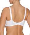 PrimaDonna 'Madison' (White) Full Cup Bra BCDE - Sandra Dee - Model Shot - Rear