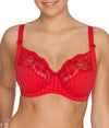 PrimaDonna 'Madison' (Scarlet) Full Cup Bra FGHI - Sandra Dee - Model Shot - Front