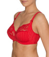 PrimaDonna 'Madison' (Scarlet) Full Cup Bra FGHI - Sandra Dee - Model Shot - Side