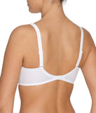 PrimaDonna 'Madison' (White) Padded Bra (Smooth Cup) CD - Sandra Dee - Model Shot - Rear