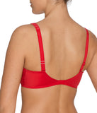 PrimaDonna 'Madison' (Scarlet) Padded Bra (Smooth Cup) EFG - Sandra Dee - Model Shot - Rear