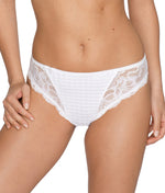 PrimaDonna 'Madison' (White) Rio Brief - Sandra Dee - Model Shot - Front