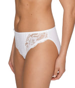 PrimaDonna 'Madison' (White) Rio Brief - Sandra Dee - Model Shot - Side