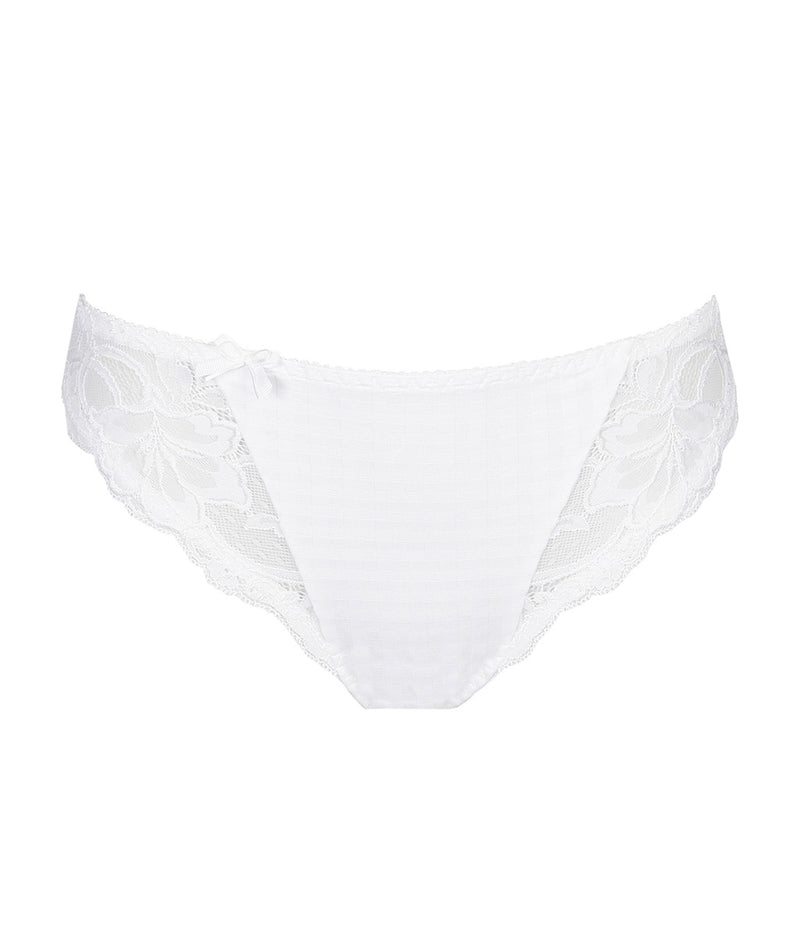 PrimaDonna 'Madison' (White) Rio Brief - Sandra Dee - Product Shot - Front