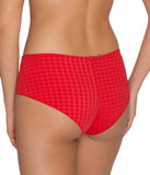 PrimaDonna 'Madison' (Scarlet) Hotpants - Sandra Dee - Model Shot - Rear