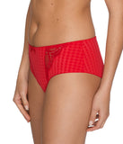 PrimaDonna 'Madison' (Scarlet) Hotpants - Sandra Dee - Model Shot - Side