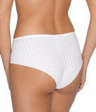 PrimaDonna 'Madison' (White) Hotpants - Sandra Dee - Model Shot - Rear