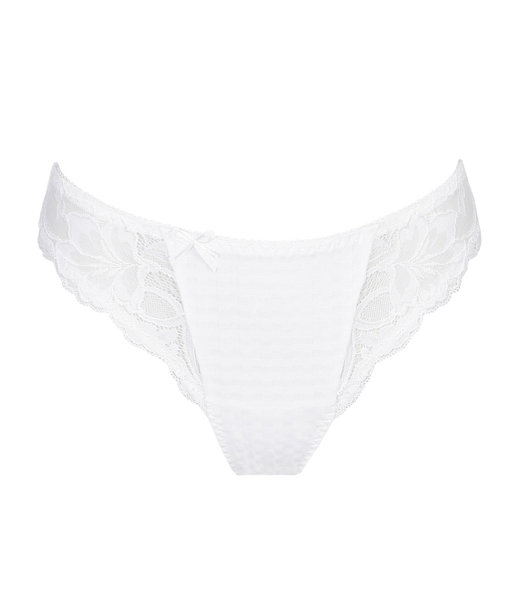 PrimaDonna 'Madison' (White) Thong - Sandra Dee - Product Shot - Front