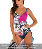 Roidal 'Flor Barock' Padded Underwired Plunge Swimsuit - Sandra Dee - Collection Publicity Shot