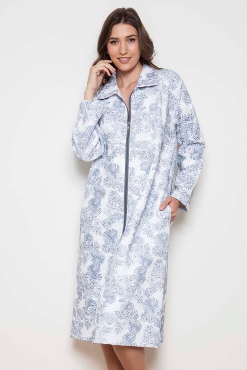 Pebble Palms by Cottonreal Zip Robe