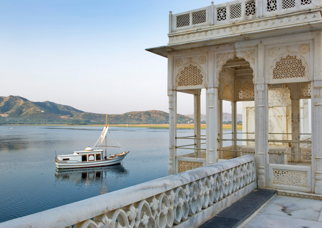Taj Lake Palace Udaipur Corner View of Lake