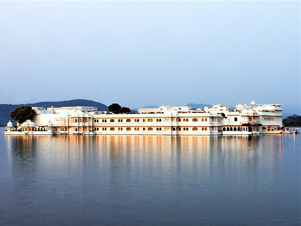 Taj Lake Palace Udaipur Frontal View