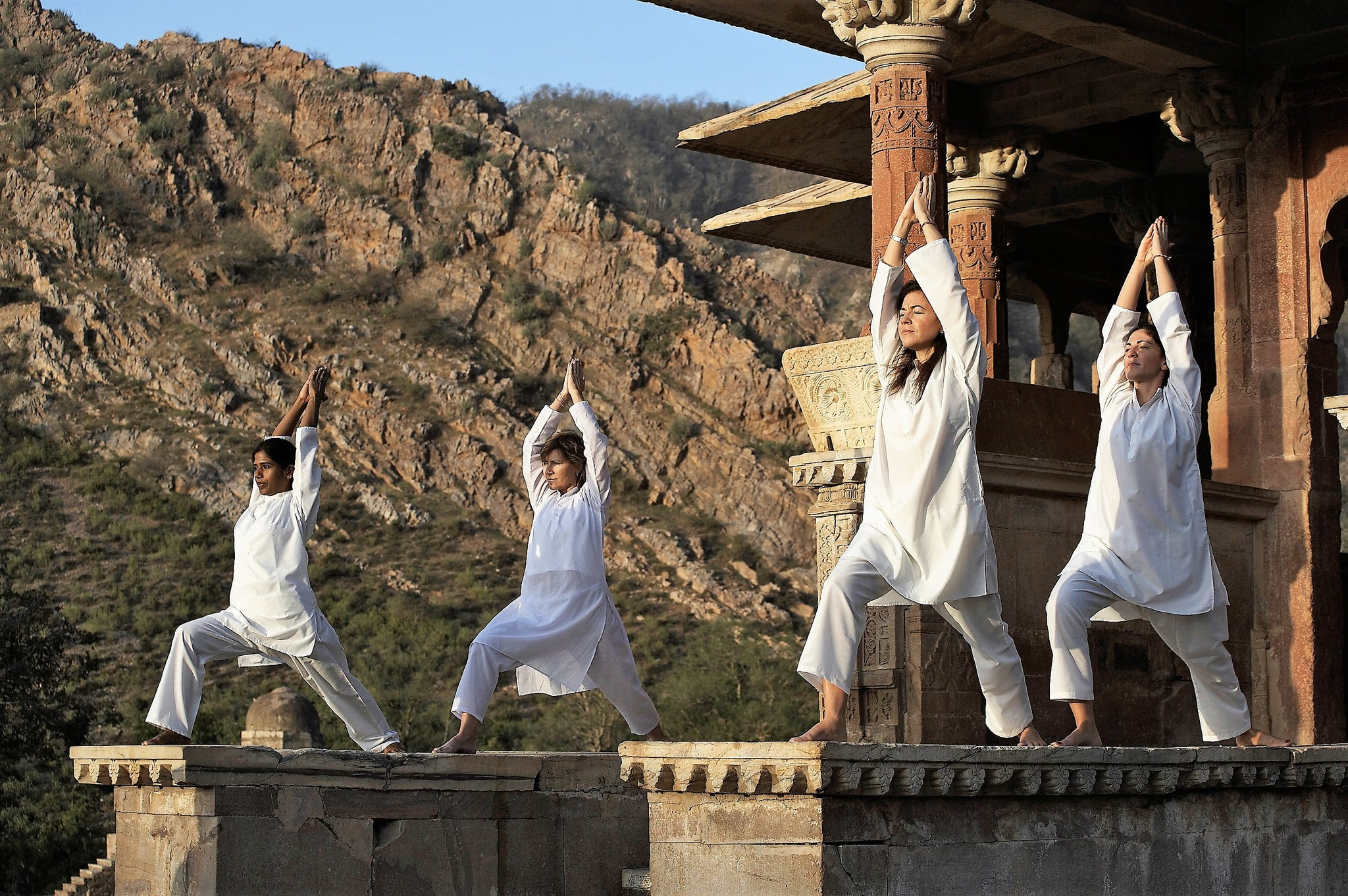 Malavara Top Luxury Ayurveda Retreats - Amanbagh, Rajasthan Yoga