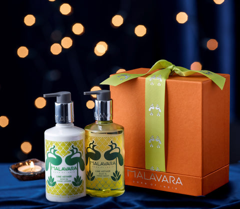 Lime Vetiver Diwali Gift