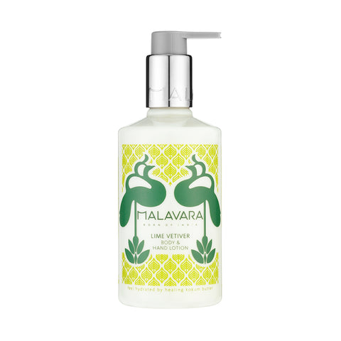 Lime Vetiver Body and Hand Lotion