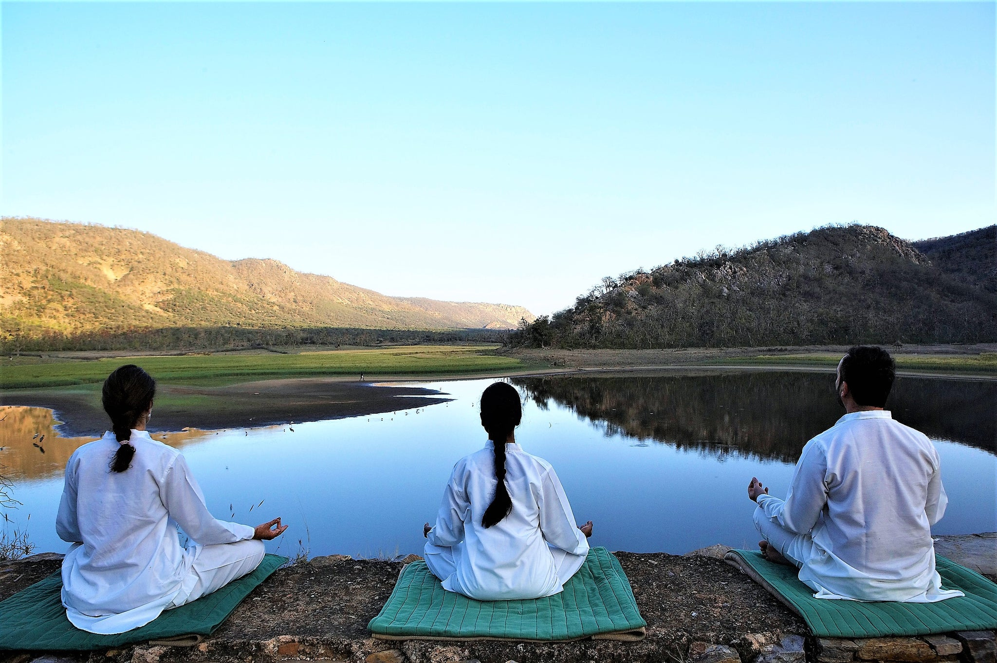 Malavara Top Luxury Ayurveda Retreats - Amanbagh, Rajasthan Meditation