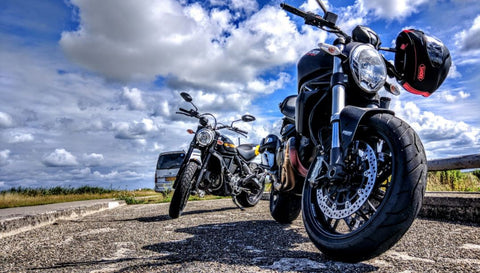 Motorbike riding routes uk