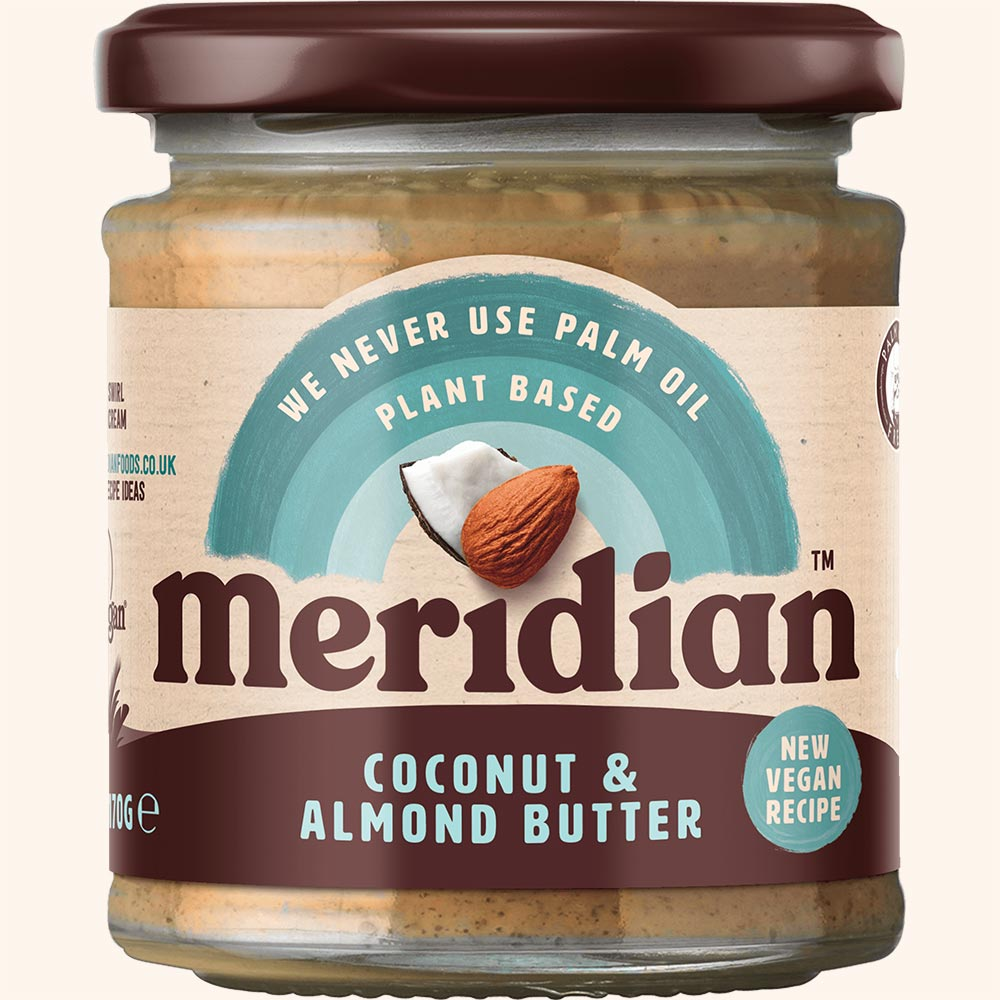 An image of Meridian Coconut & Almond Butter 170g Jar