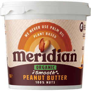 Meridian Organic Smooth Peanut Butter 1kg