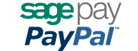 Secure Online Payments via Sagepay & Paypal