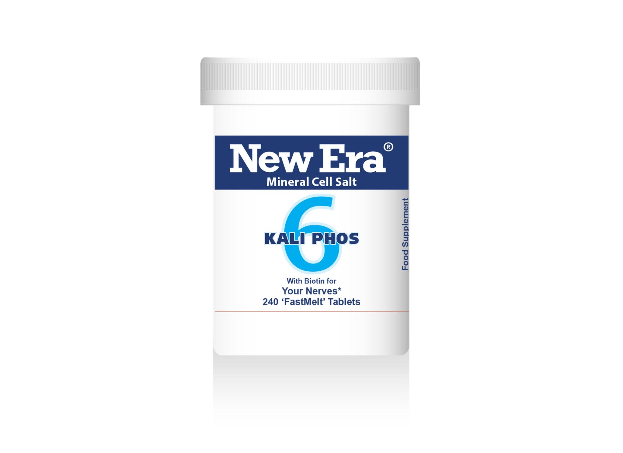 No.6 Kali. Phos. for your nerves. 240 tablets