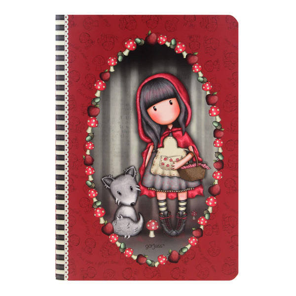 A5-ös füzet - Gorjuss - Little Red Riding Hood