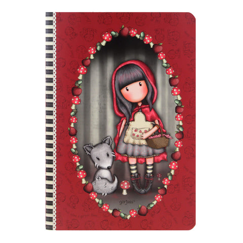 3f4accb8bb A5-ös füzet - Gorjuss - Little Red Riding Hood