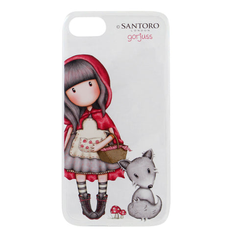 iPhone 8 hátlap - Gorjuss - Little Red Riding Hood