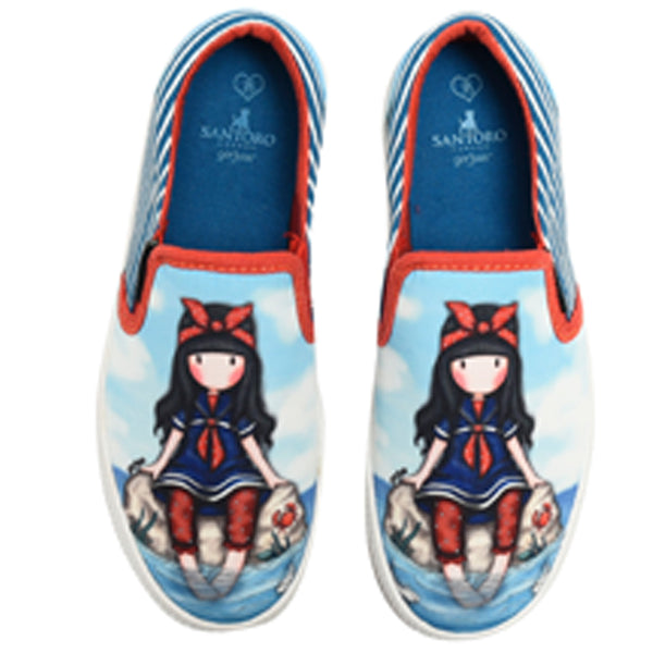 Slip-on - 34-es - Gorjuss - Little Fishes